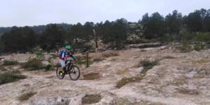 Ciclista en la brisa I